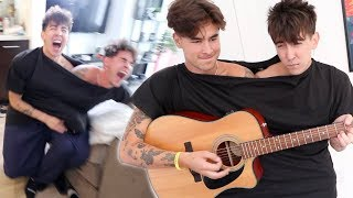 Conjoined Twin Challenge with Kian Lawley