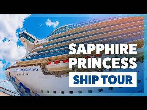 Sapphire Princess Cruise Ship Tour