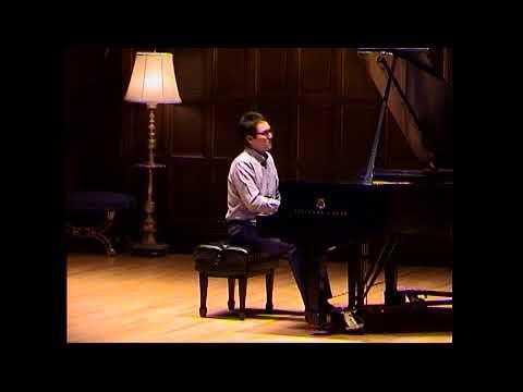 "Lowell Liebermann""Gargoyles"" Live at Kilbourn Recital Hall 1st movement"