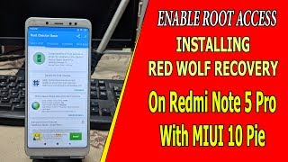 Install PITCH BLACK RECOVERY on Redmi Note 5 Pro - Thủ thuật