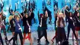 DPG Exclusive - Miss Universe 2013 swimsuit rehearsals