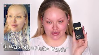 why nikkietutorials DELETED THIS foundation review...