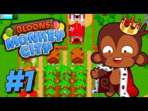 Bloons Monkey City Video 2