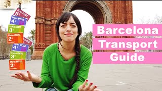 Barcelona Public TRANSPORT Guide | 😱What travel card to buy?? | Get around in Barcelona.