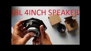 JBL A120SI Car Speakers . unboxing  of jbl 4 inch speaker