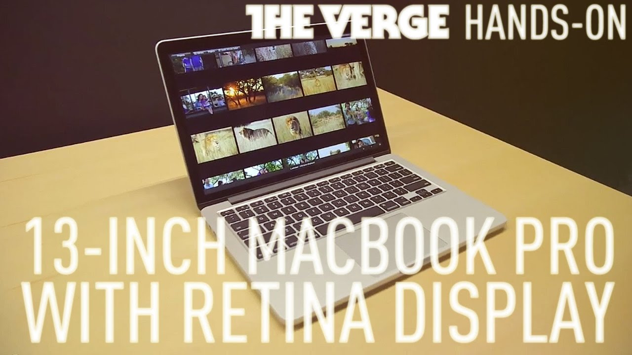 13-inch MacBook Pro with Retina display hands-on demo thumbnail