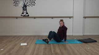 Yin Yoga #4 With Olivia – Restorative Approach to Soothe Lower Back