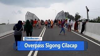 Overpass Sigong Cilacap Jadi Tempat Pelesir dan Selfie