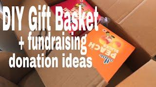 DIY Gift Baskets | Fundraiser Donation Gift Ideas  | DIY Candy Bar Ideas | Amazon Deal Alert
