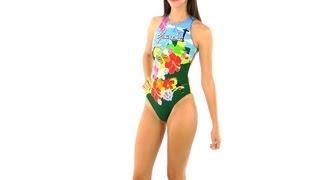 Turbo Women's Ipanema Water Polo Suit | SwimOutlet.com