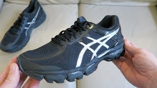 ASICS Gel-Kayano 22, Men's Running Shoes Trainers Unboxing T547N 9993