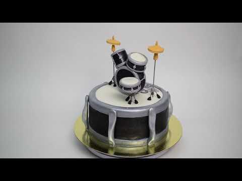 Идея торта барабанщику