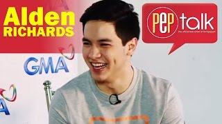 "PEPtalk. Alden Richards Plays ""Fast Talk"" In PEPtalk Challenge"