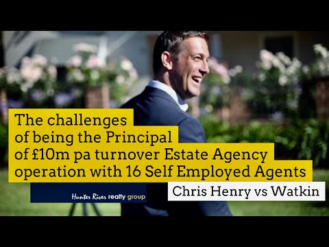 Challenges of running a £10m/pa Fee Estate Agency from One Office Hub with 16 Self Employed Agents