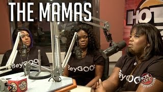 Beyonce's background singers,The Mamas,hangout with Old Man Ebro