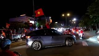Lâm Chấn Khang Đi Bão Ăn Mừng Việt Nam Vô Địch Tại TP. Bến Tre 15/12/2018