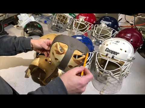 Visual Comparison of Cooper SK2000 Hockey Helmet Variations