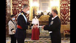 Presentación Carta Credencial embajador Colombia