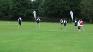 preview picture of video 'Stoolball -  Under 21s England v President's XI Horsham CC'