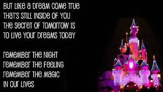 Remember the Magic - Brian McKnight (with lyrics)