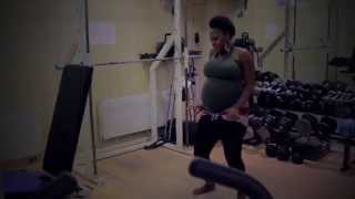 Timaya - Amayanabo - 9 months Pregnant dance