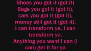 Chris Brown ft. Lil Wayne - I Can transform Ya Lyrics