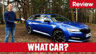 2021 Skoda Superb Estate review – why it's the best estate on sale | What Car?