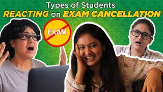 Types Of Students Reacting On Exam Cancellation // Captain Nick - Download this Video in MP3, M4A, WEBM, MP4, 3GP
