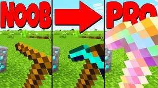 MINECRAFT: NOOB vs PRO Pickaxes!