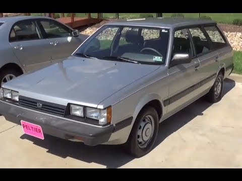 1988 Subaru Impreza DL Interior & Exterior Tour