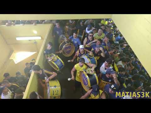 """""""Boca Lanus 2019 / Bombos - Los domingos en la cancha"""" Barra: La 12 • Club: Boca Juniors • País: Argentina"""