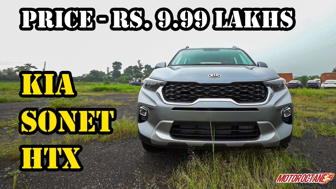 Motoroctane Youtube Video - Kia Sonet HTX - Price, Space, Features, Specifications, Design