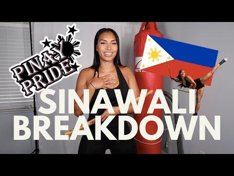 Easy to do Filipino Martial Arts Sinwali Breakdown (Kali Arnis)