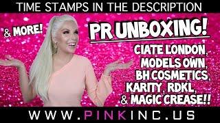 PR Unboxing! Ciate London, Models Own, BH Cosmetics, Karity, RDKL, & Magic Crease | Tanya Feifel