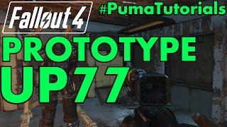 "FALLOUT 4: Unique Weapons Guide - Prototype UP77 ""Limitless Potential"" Laser Pistol #PumaTutorials"