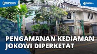 Jelang Presiden Jokowi Tiba di Kediamannya Sumber Solo, Keamanan Mulai Diperketat