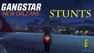 GANGSTAR NEW ORLEANS - STUNTS (CARS & BIKES)