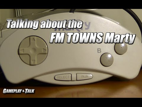 Talking about the Fujitsu FM TOWNS Marty system