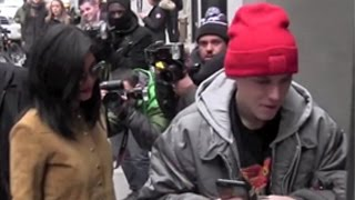 Kylie Jenner And Justin Bieber Lookalike Cause Mayhem With Paparazzi