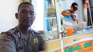 Kisah Bripka Toni Purwanto, Anggota Polisi yang Berjualan Cilok setelah Pulang Bertugas