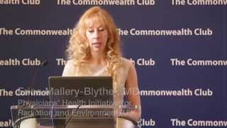 Dr Erica Mallery-Blythe, MD at the Commonwealth Club of CA, June 2015