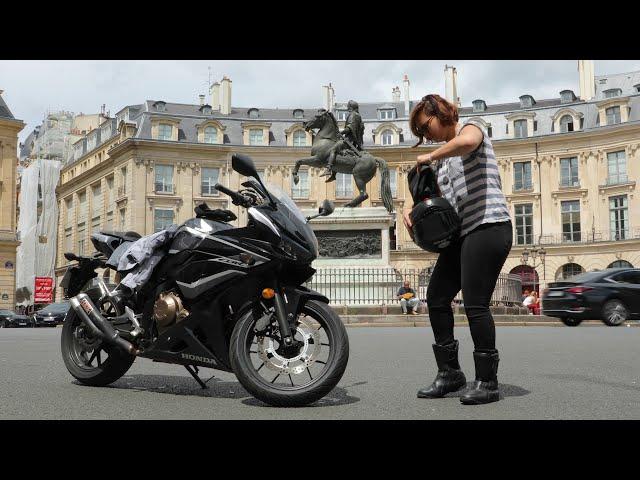 Надувные штаны спасут ноги мотоциклиста в случае аварии