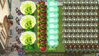 Pvz 2 - Apple Mortar, Electric Peashooter and Dandelion
