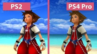 Kingdom Hearts – PS2 vs. PS3 vs. PS4 vs. PS4 Pro 4K UHD Graphics Comparison - dooclip.me