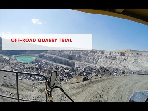 Real World Testing for Shell ROTELLA® - Quarry Trial