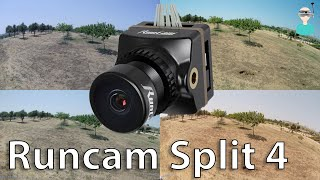 Runcam Split 4 Full Sized Flight Footage (Watch In 4k)