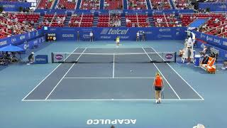 Match point femenil Watson - Vandeweghe #AMT2020