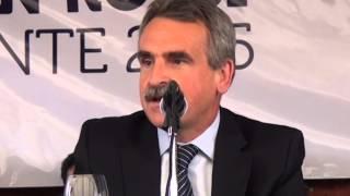 BELLA VISTA VISION PARA TODOS   EL MINISTRO DE DEFENSA AGUSTIN ROSSI EN BELLA VISTA   04 10 2014