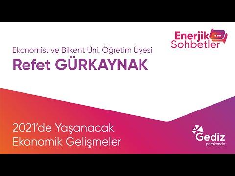 Enerjik Sohbetler Konuğumuz, Ekonomist ve Bilkent Üniversitesi Öğretim Üyesi Sayın Refet Gürkaynak