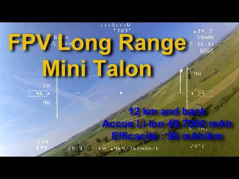 fpv-long-range-mini-talon-12-km-and-back-autolaunch-pitlab-battery-li-ion-4s-7000-mah